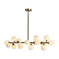 Plafond Lichten & hangers ,  Hedendaags Messing Kenmerk for LED Metaal Woonkamer Slaapkamer Eetkamer