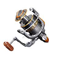 Fishing Reel Spinning Reels 5.2:1 10 Ball Bearings Exchangable General Fishing-HYD2000