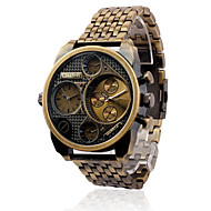 Men's Classic Retro Personality / Two Time / Alloy Tape Sport Watch