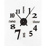 DIY Ultra Large Simple Modern Mute Wall Clock