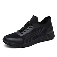 Men's Sneakers Spring Summer Fall Winter Other Rubber Outdoor Casual Flat Heel Others Black Blue Running