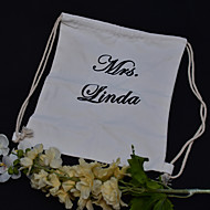 Personalized custom backpack Practical Favors-1 Purse Valets Classic Theme Rustic Theme White 42*35