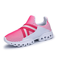 Women's Sneakers Spring Summer Fall Comfort Light Soles Tulle Outdoor Casual Athletic Flat Heel Gore Running