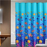 Neoklasika Polyester 180 * 180  -  Vysoká kvalita Koupelnové závěsy