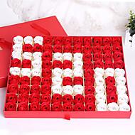 כיתה עילית עלה יום האם סבון תיבת פרח 520 לשלוח חברתו על חג האהבה המתנות יצירתי פסטיבל השבע