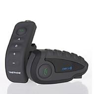 vnetphone v8 1200m 5 ryttere motorcykel bluetotooth motorcykel hjelm intercom håndfri hjelm headset med fjernbetjening NFC