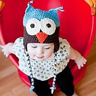 Tyttöjen Hatut ja lippikset,Talvi Knitwear-Musta Ruskea