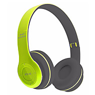 NEW P47 wireless foldable Headphone Stereo Bluetooth Earphone with MP3 Player Music FM Radio
