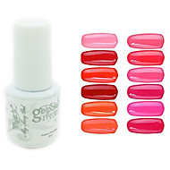 yemannvyou®sequins uv renk jel tırnak cilası no.1-12 (5ml, çeşitli renk)