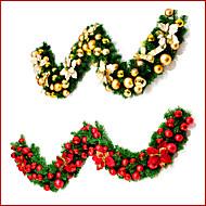 Girlandok Kivilágítatlan Virágos / Botanikus Ünneő Virágos/Botanikus Műanyag Karácsonyi dekoráció
