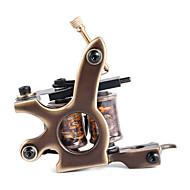 solong tattoo aangepaste koperen tattoo machine geweer handgemaakte 12 wrap zuiver koper coils voor liner m204-1
