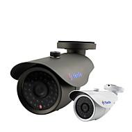 yanse® 1000tvl 8mm metalen aluminium d / n cctv camera ir 36 geleid veiligheid waterdichte bedrade f278cf