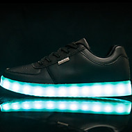 לבנות-נעלי ספורט-עור חזיר-נוחות חדשני-שחור לבן-שטח יומיומי ספורט-עקב שטוח