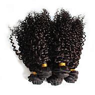 טווה שיער אדם שיער ברזיאלי מסולסל חלק 1 שוזרת שיער