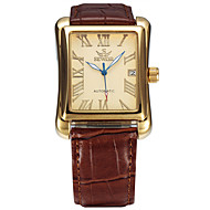 Men's Women's Unisex Sport Watch Fashion Watch Wrist watch Mechanical Watch Calendar Automatic self-winding Genuine Leather BandCasual