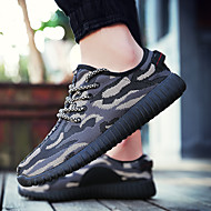Running Shoes Men's / Women's Anti-Slip / Damping / Breathable Coconut Shoes Leisure Sports White / Black Running/Jogging