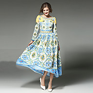MAXLINDY Women's Boho Going out / Party / Holiday Vintage / Street chic /Midi Swing Dress