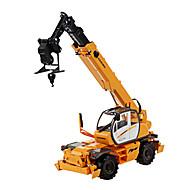 רכב בנייה צעצועים צעצועים רכב 01:50 פלסטיק מתכת ABS לבן צעצוע בניה ודגם