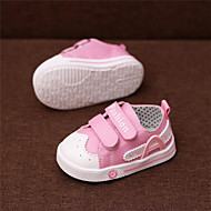 Girl's Flats Comfort Canvas Outdoor Casual Athletic Blue Pink Red Running