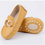 Girl's Loafers & Slip-Ons Comfort PU Casual Yellow