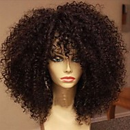 Brazilian Virgin Hair Glueless Full Lace Human Hair Wigs for Black Women Kinky Curly Full Lace Wig with Baby Hair