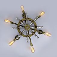 AC 100-240 360 E26/E27 כפרי גס Retro וינטאג' צביעה מאפיין for סגנון קטן,תאורת סביבה פמוטי קיר אור קיר