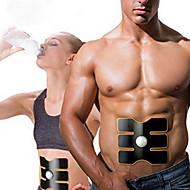 Abdomen Massage apparat Elektrisk Vibration Viktnedgångshjälp Stimulera blodomloppet Bärbar Blandad Silikon