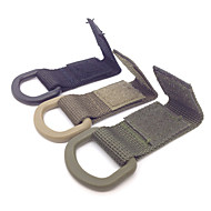 Match Molle System Backpack Nylon Webbing Buckle Outdoor Camping Convenient Bag Hanger Hook Clamp EDC Carabiner Survival Gear 2PC