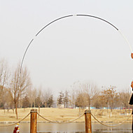 Fishing Rod Telespin Rod Carbon steel 360 M General Fishing Rod Black White