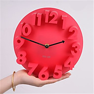 Autres Autres Horloge murale,Rond Métal Plastique 22*8.2 Intérieur Horloge