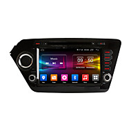 8 Inch Android 6.0 Quad Core HD Screen 1024*600 In-Dash Car DVD Player GPS Navigation For kia k2 Rio 2011 2012 with 2GB RAM Support 4G Lte