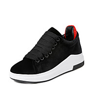Women's Sneakers Spring Summer Creepers Leatherette Outdoor Athletic Casual Platform Creepers Lace-up Black Green Other