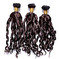 Tissages de cheveux humains Cheveux Brésiliens Ondulé 3 Pièces tissages de cheveux