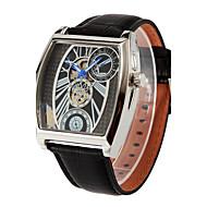 Men's Women's Unisex Sport Watch Military Watch Fashion Watch Mechanical Watch Wrist watch Calendar Dual Time Zones Automatic self-winding
