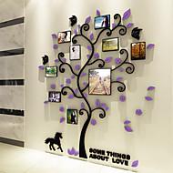 Botânico Adesivos de Parede Autocolantes 3D para Parede Autocolantes de Parede Decorativos,Vinil Material Decoração para casa Decalque
