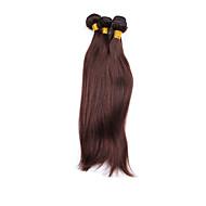 Hiukset kutoo Brasilialainen Straight 4 osainen hiukset kutoo