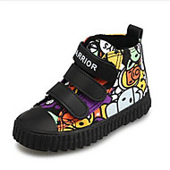 Sneakers-Kanvas-Komfort-Drenge-Grøn Lilla-Fritid