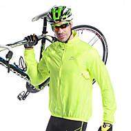 Mysenlan Jachetă Cycling Pentru bărbați Bicicletă Jachetă TopuriKeep Warm Uscare rapidă Rezistent la Vânt Rezistent la Ultraviolete