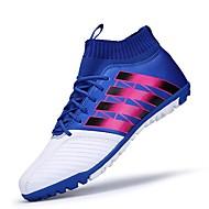 Kényelmes-Lapos-Női cipő-Sportcipők-Sportos-Bőr-Kék Piros Narancssárga