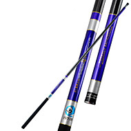 Fishing Rod Telespin Rod Carbon steel 450 M General Fishing Rod Blue