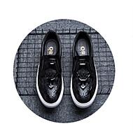 Men's Loafers & Slip-Ons Spring Summer Comfort PU Outdoor Casual Running Low Heel Black