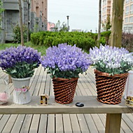 1 Ág Műanyag Világoskék Asztali virág Művirágok