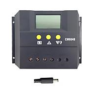 액정 60A 48V 태양 전지 패널 충전 컨트롤러 배터리 충전기 레귤레이터 PWM 모드