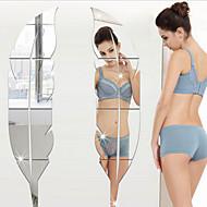 Romance Lazer Adesivos de Parede Autocolantes 3D para Parede Autocolantes de Parede EspelhoAutocolantes de Parede Decorativos