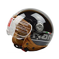 Beon b-110 motorcykel halv hjelm harley hjelm abs anti-dug anti-uv sikkerhed hjelm unisex mode
