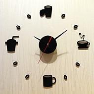 Moderne/Contemporain Vacances Famille Horloge murale,Nouveauté Acrylique Intérieur/Extérieur Intérieur Horloge