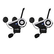 freedconn 2db T-Rex freedconn teljes duplex motorkerékpár csoport talk rendszer 1500m 8-irányú bt kaputelefon fm rádió bluetooth bukósisak