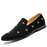 מוקסין אופנת גברים&מוקסינים נעלים מזדמן נעלי מסכת אופרה סינית רוח נוער שטוח