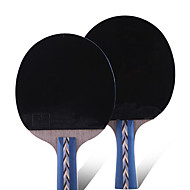 5 Sterne Ping Pang/Tischtennis-Schläger Ping Pang Gummi Kurzer Griff Pickel