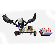 Leketøy til Gutter Oppdagelsesleker GDS-sett Pedagogisk leke Robot Robot Metall Svart